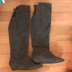 Steve Madden blondee over the knee boots